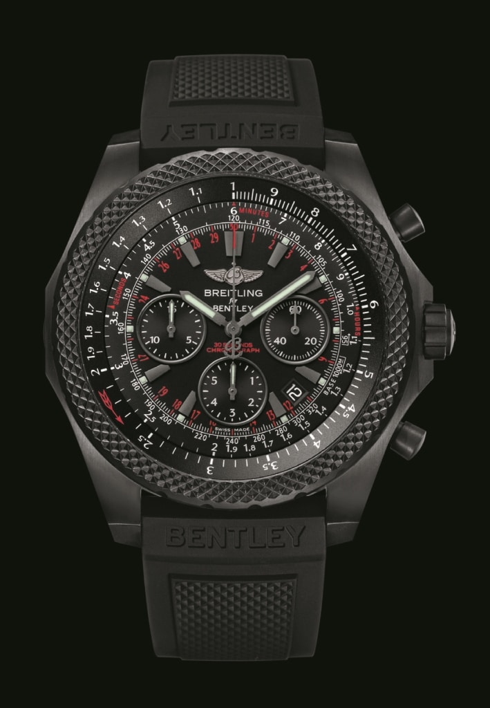 auf limitiert breitling for bentley light body midnight carbon. Black Bedroom Furniture Sets. Home Design Ideas