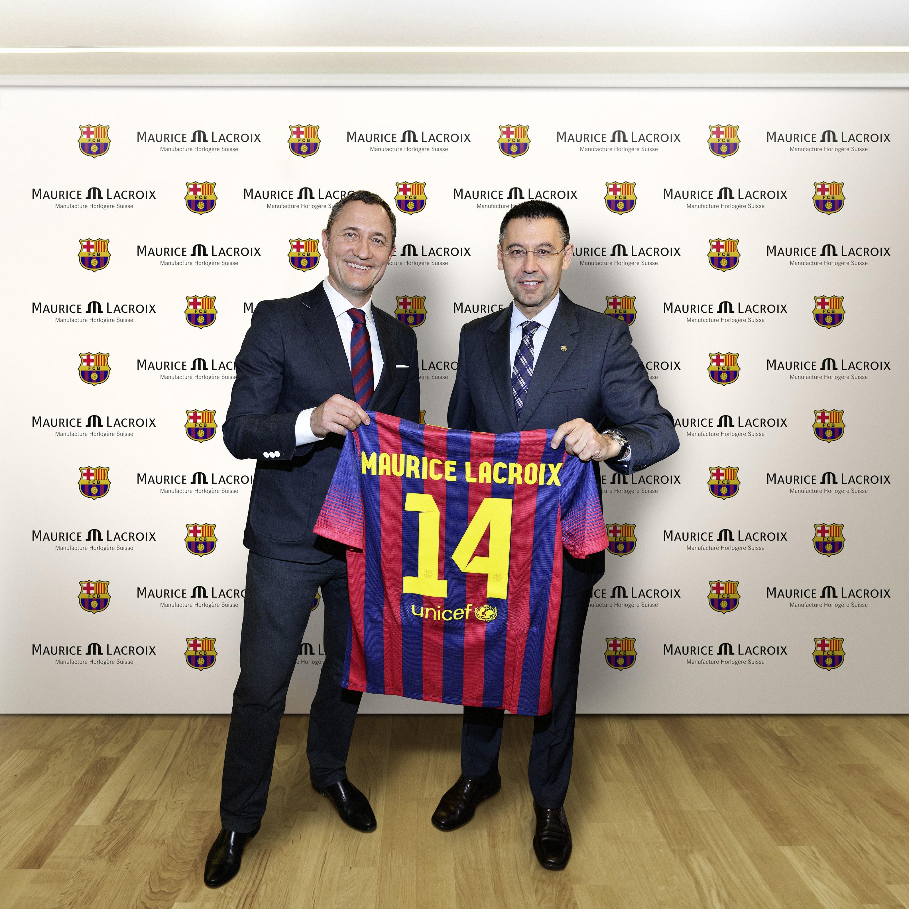 Maurice Lacroix Sponsoring-Partner des FC Barcelona