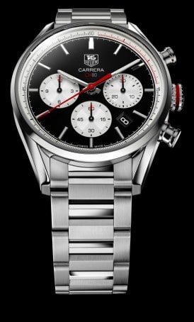 TAG HEUER CARRERA CALIBRE CH 80 CHRONOGRAPH 41MM CBA2110.BA0723