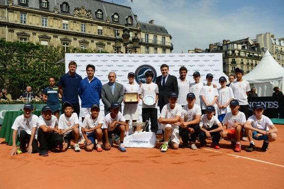 Final Longines Future Tennis Aces 2013 - Award ceremony