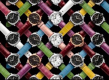Armbänder in neuen exklusiven Farben von Officine Panerai