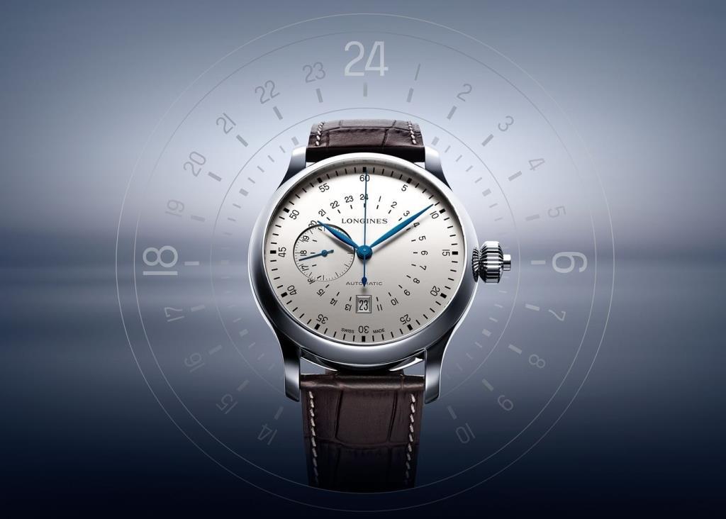 The Longines Twenty-Four Hours Single Push-Piece Chronograph_L2.797.4.73.0