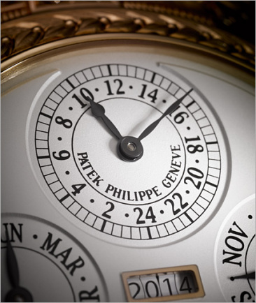 Watch Art Patek Philippe Grand Exhibition London 2015