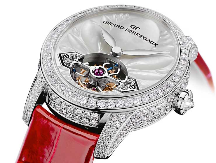 Girard-Perregaux Cat's Eye Tourbillon mit Goldbrücke