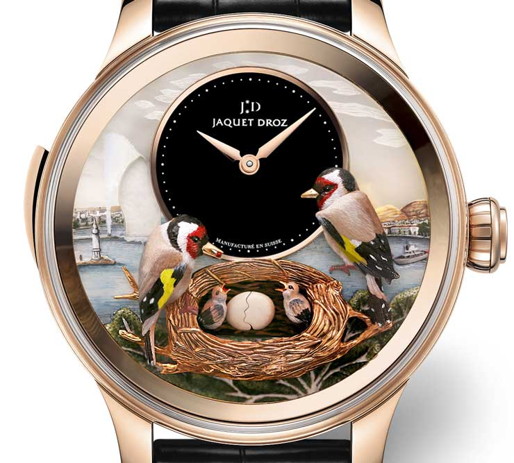 Jaquet Droz Bird Repeater Geneva