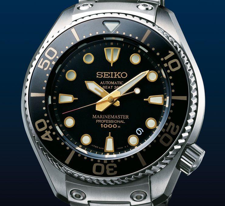 Seiko Marinemaster Professional 1000m Hi-Beat 36.000 Limited Edition