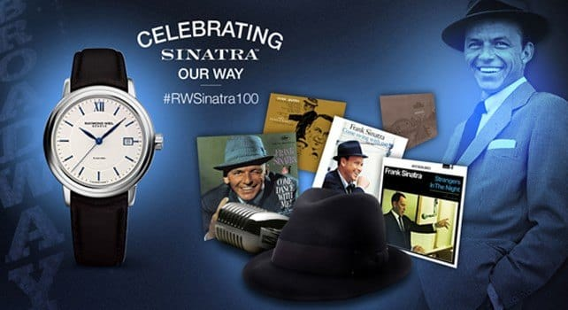 Raymond Weil Sinatra 100
