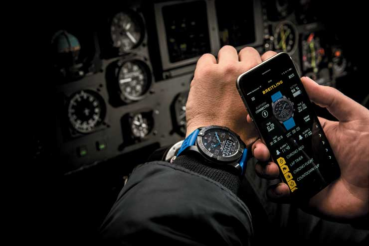 Breitling Exospace-B55_in-use
