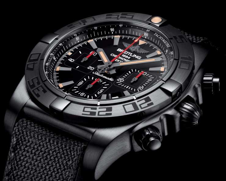 Breitling Chronomat-44-Blacksteel