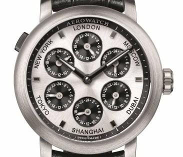 Aerowatch Renaissance 7 Time Zones