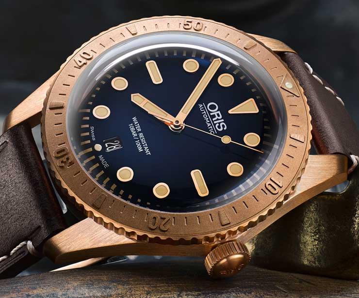 Oris Divers Sixty-Five Carl Brashear Limited Edition