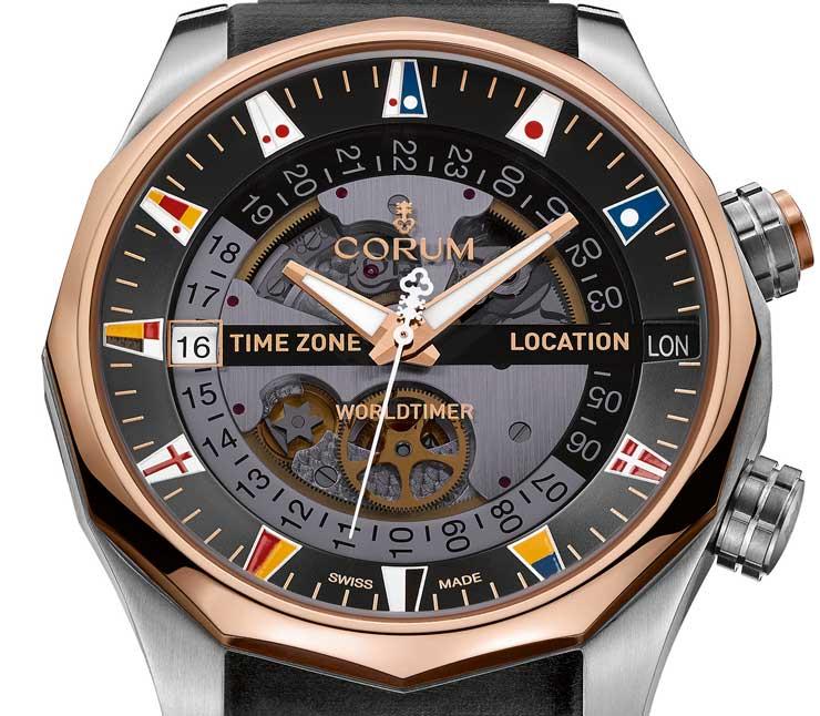 Corum Admiral's Cup Legend 47 Worldtimer