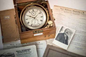 Sonderausstellung 130 Jahre Marine-Chronometer aus Sachsen im Deutschen Uhrenmuseum
