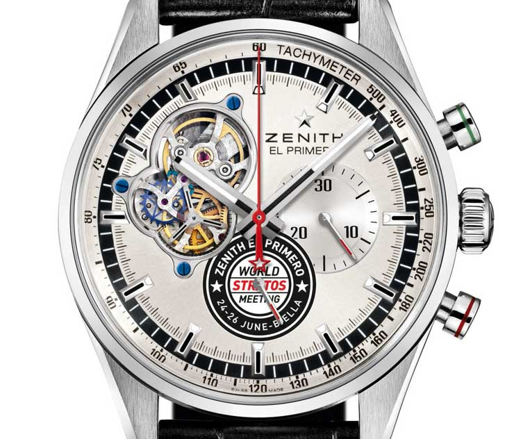 Zenith El Primero Chronomaster World Stratos Meeting Edition