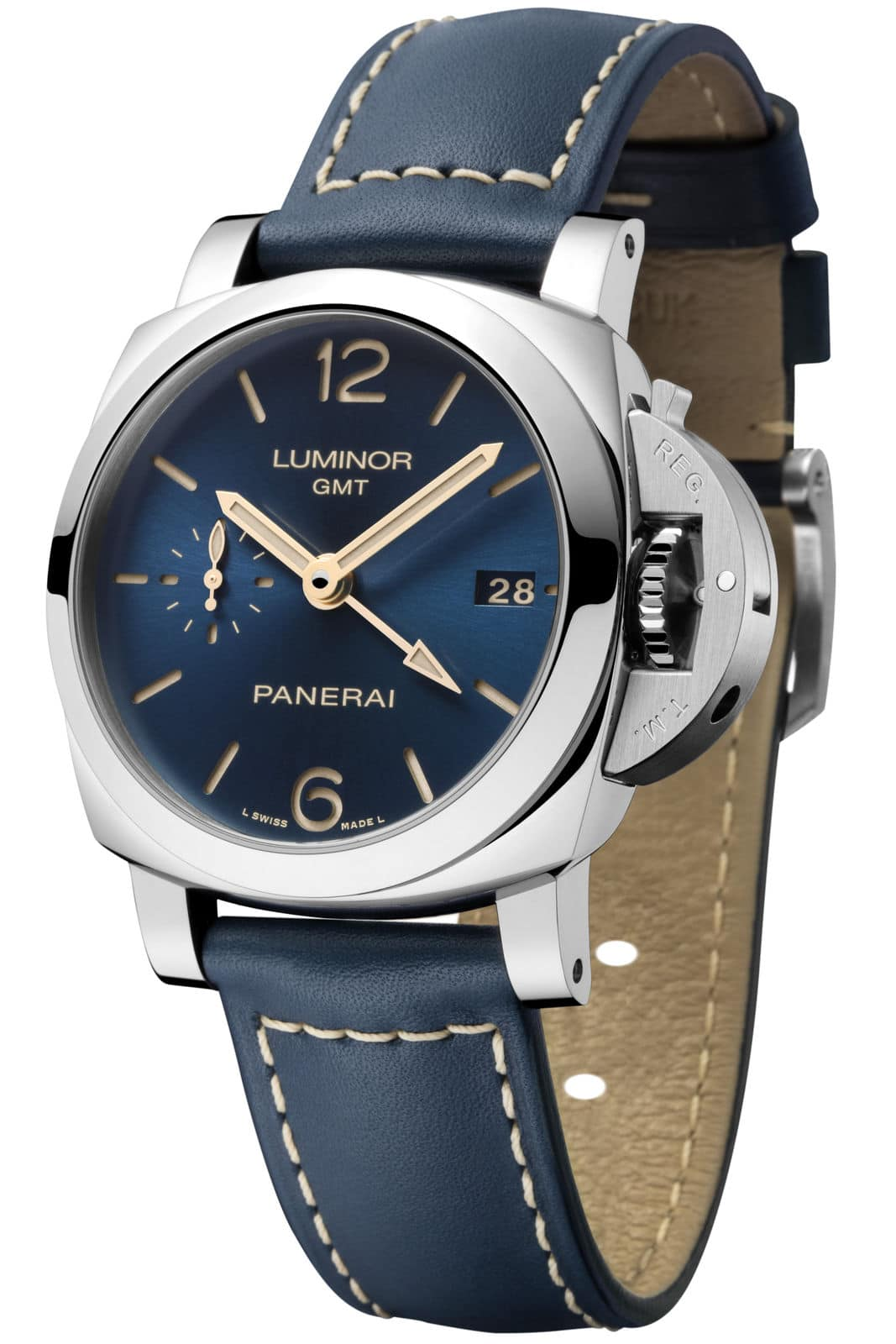Pam688_Luminor 1950 3 Days GMT Automatic Acciaio – 42 mm