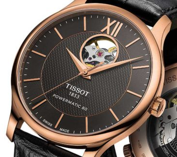 Offenherzig: Tissot Tradition Automatic Open Heart