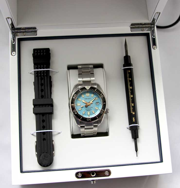 Seiko Prospex Marinemaster Professional 300m Automatik Limited Edition Box