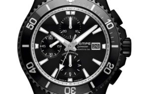 Wempe Zeitmeister Sport Taucher Chronograph DLC
