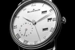Blancpain Villeret Quantième Annuel GMT mit Edelstahlgehäuse