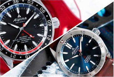 Neue Alpiner 4 Automatik und Alpiner 4 GMT Business Timer