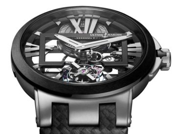 Blickfang: Ulysse Nardin Executive Skeleton Tourbillon