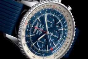 Breitling macht Blau: Breitling Navitimer GMT Aurora Blue