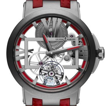 Ulysse Nardin Executive Skeleton Tourbillon Boutique Edition