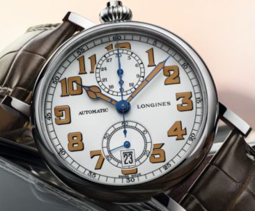 Im Heritage-Look: The Longines Avigation Watch Type A-7 1935