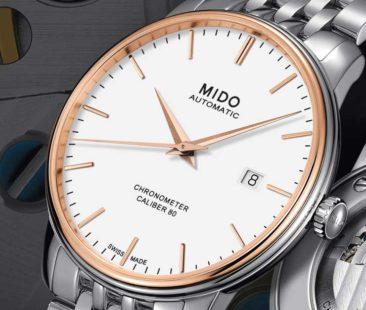 Spitzentechnologie trifft Noblesse: Mido Baroncelli Caliber80 Chronometer