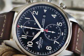 Der neue Alpina Startimer Pilot Automatic Chronograph