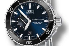 Nur für Profis: Oris Royal Navy Clearance Diver Limited Edition
