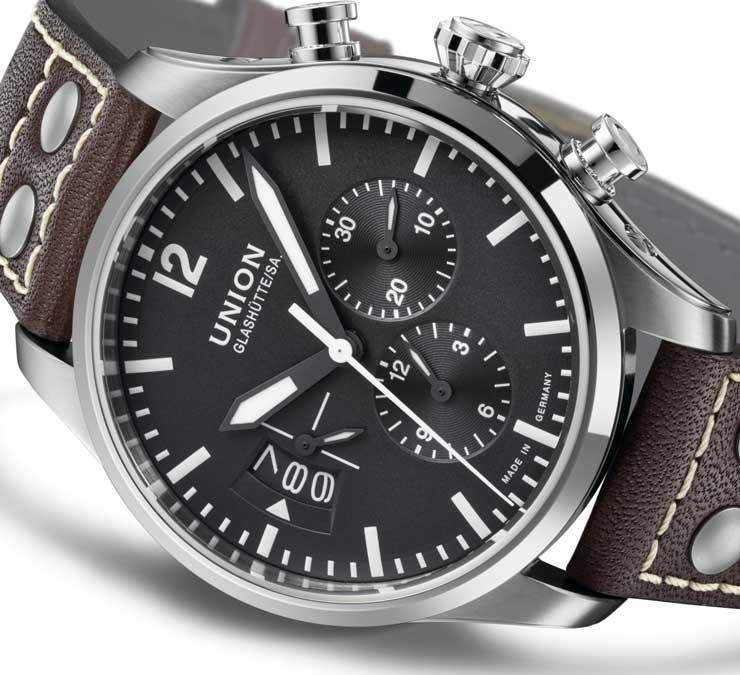 union-glashuette_belisar pilot chronograph