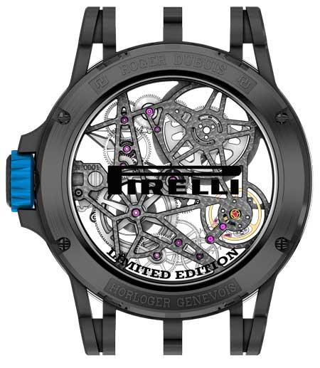 Excalibur Spider Pirelli - Automatik Skelett