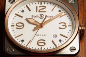 Eleganz im Quadrat: Bell&Ross BR03-92 Steel Rose Gold
