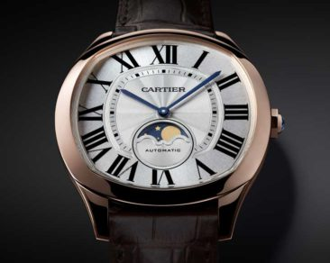 SIHH-Neuheit: Drive de Cartier Moon Phase Watch und Drive de Cartier ultra-flach