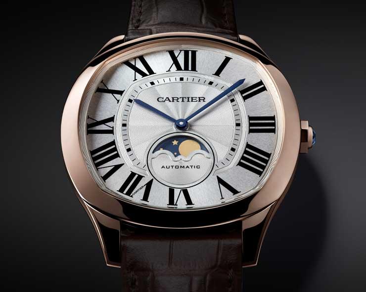 SIHH-Neuheit: Drive de Cartier Moon Phase Watch und Drive de Cartier ultra-flach