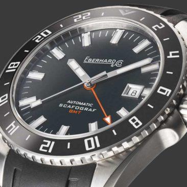 Pre-Basel-News: Eberhard & Co. Scafograf GMT