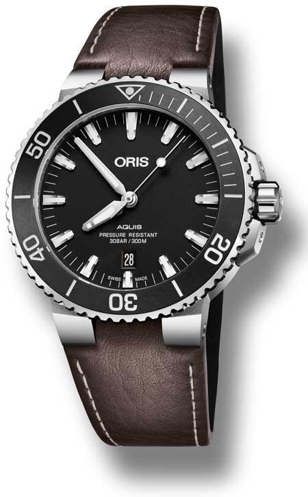 Oris Aquis Date 2017 -733-7730-4154-07-5-2