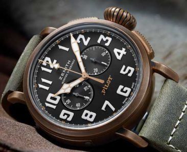 Neu in der Zenith Heritage Collection: Der Pilot Extra Special Chronograph