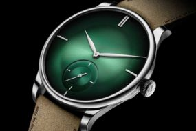 H.Moser & Cie Venturer Small Seconds XL Purity Cosmic Green