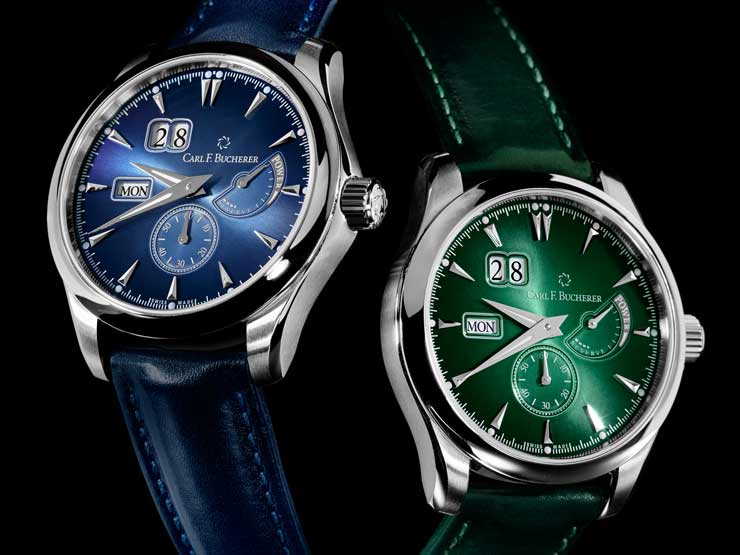 Colours of Lucerne: die neue Manero Power Reserve von Carl F.Bucherer
