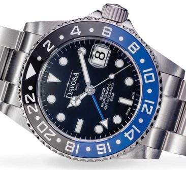 GMT-Version eines Taucheruhren-Klassikers: Davosa Ternos Professional GMT