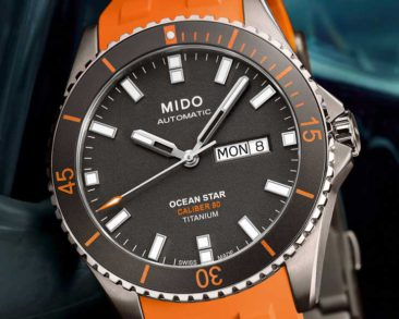 Clockwork Orange: Mido Oean Star Caliber 80 Titanium