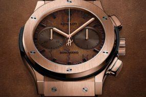 Der neue Hublot Classic Fusion Chronograph Berluti