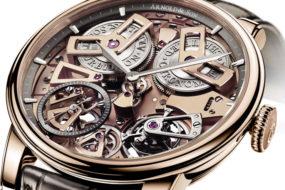 Aus der Arnold & Son Royal Collection: Tourbillon Chronometer No. 36