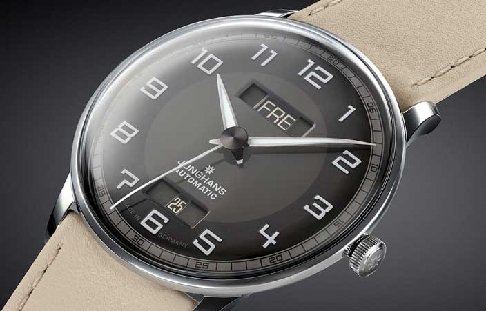 Junghans Meister Driver Day Date: Reminiszenz an automobile Tradition