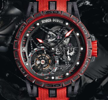High-Tech-Material auch im Werk: Roger Dubuis Excalibur Spider Carbon
