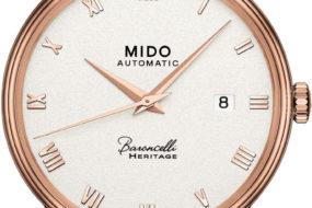 Gibt es als Damen- und Herrenmodell: die Mido Baroncelli Heritage
