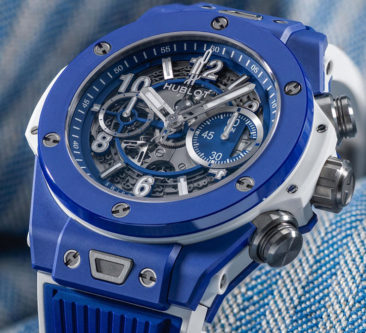 Die auf 100 limitierte Hublot Big Bang Blue: in the summertime…