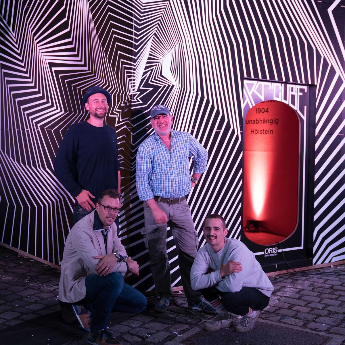 Oris beim beim MUCA Urban Art Festival Foto Credit: Vincent Breysacher – Alps Media
